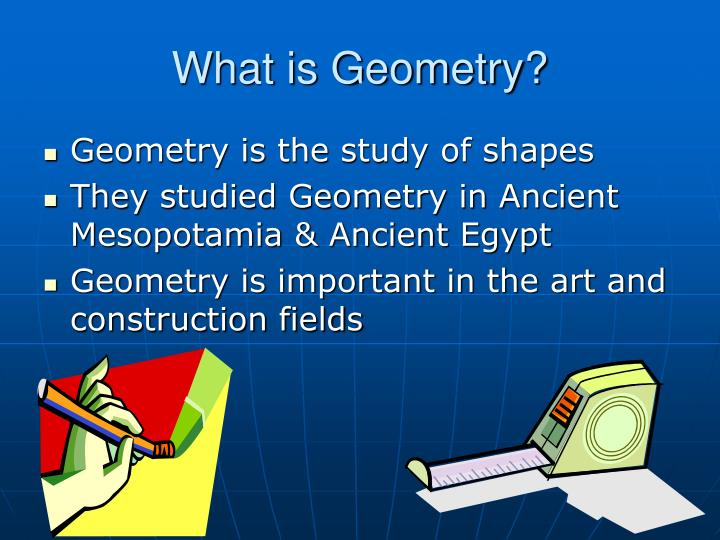 What is geometry