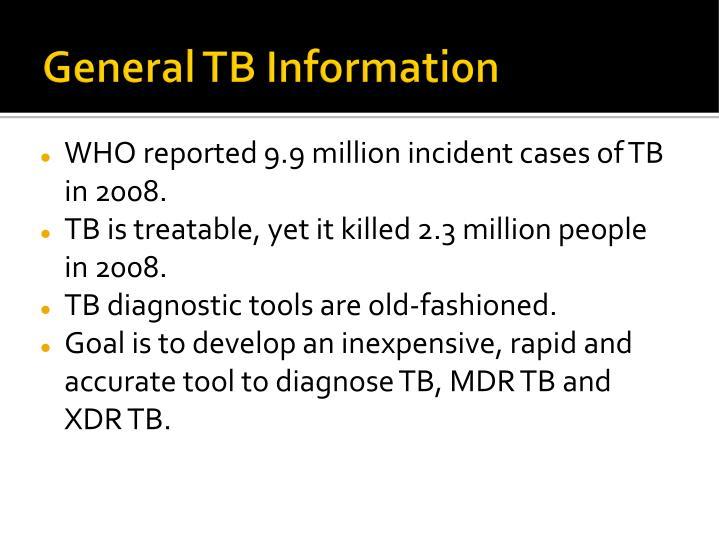 General TB Information
