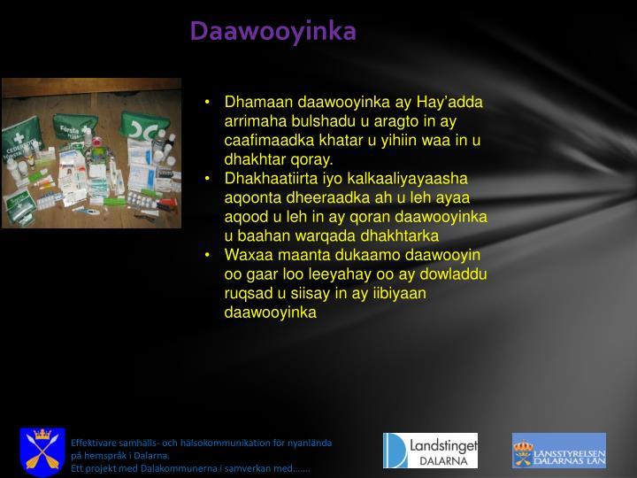 Daawooyinka