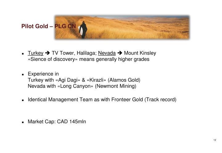 Pilot Gold – PLG CN