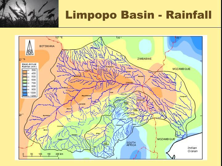 Limpopo Basin - Rainfall