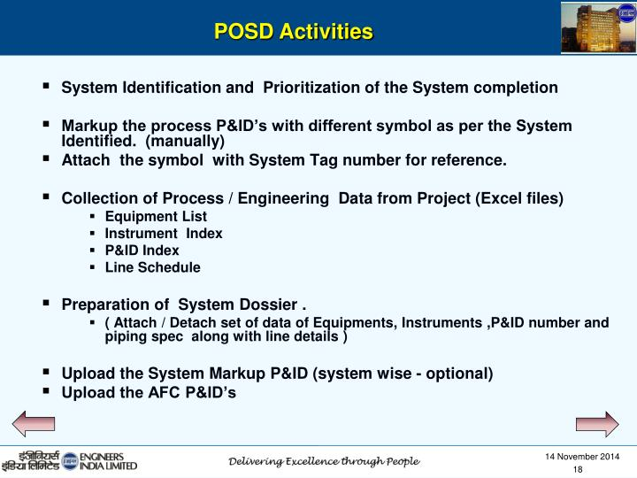 System Identification and  Prioritization of the System completion
