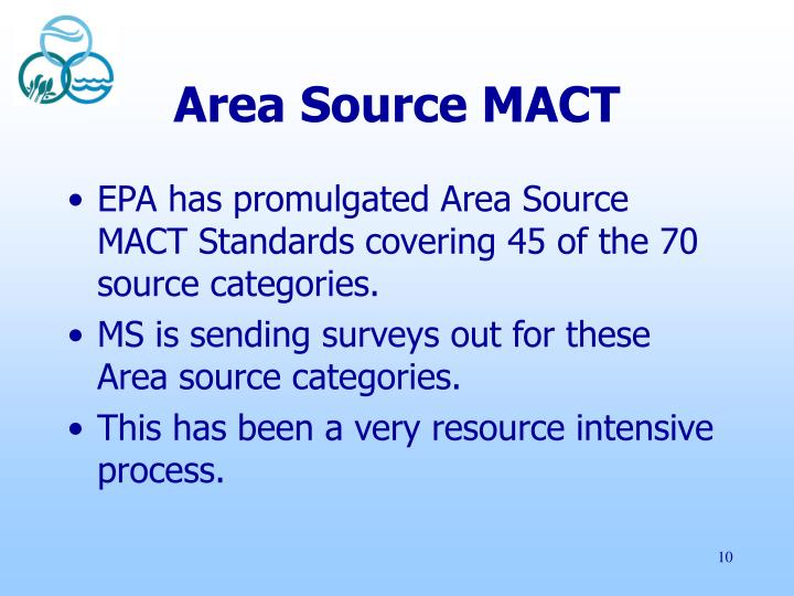 Area Source MACT