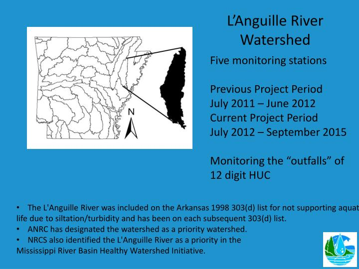 L'Anguille River Watershed