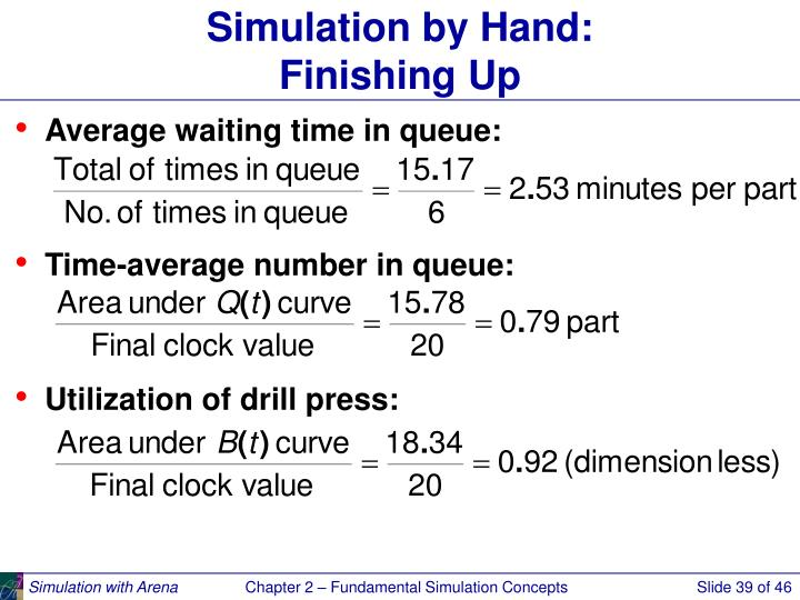 Simulation by Hand: