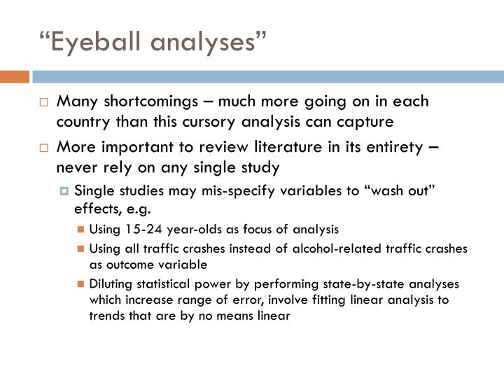 """Eyeball analyses"""