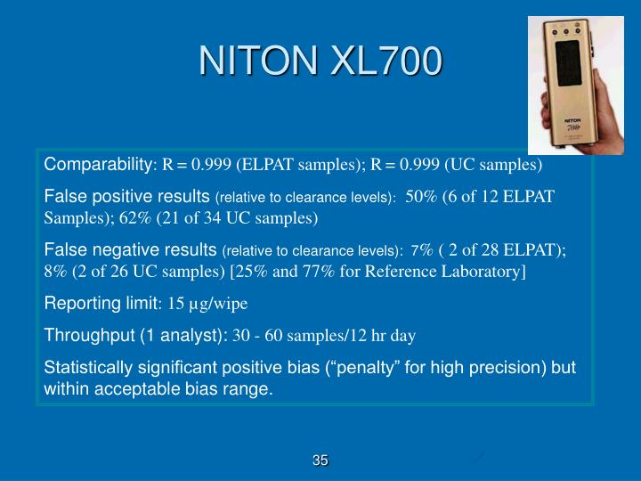 NITON XL700