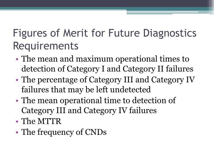 Figures of Merit for Future Diagnostics Requirements