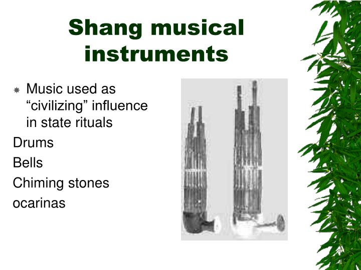 Shang musical instruments