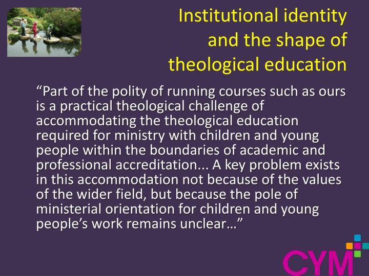 Institutional identity