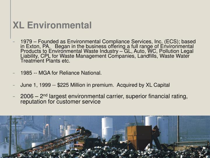 XL Environmental