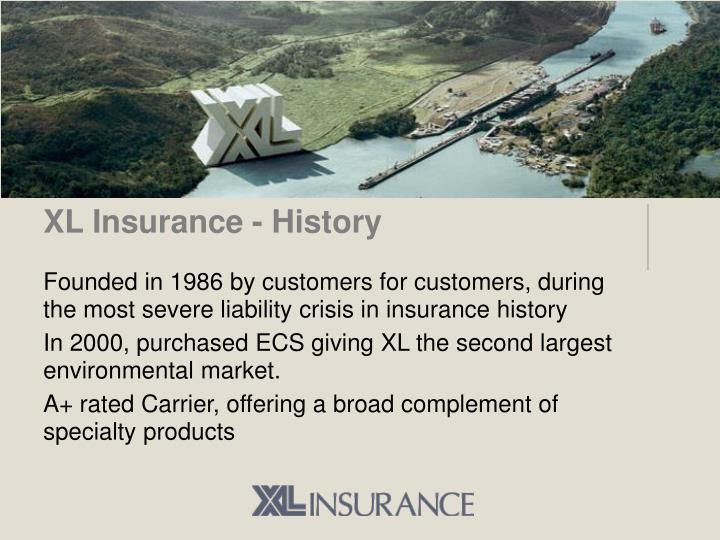 XL Insurance - History