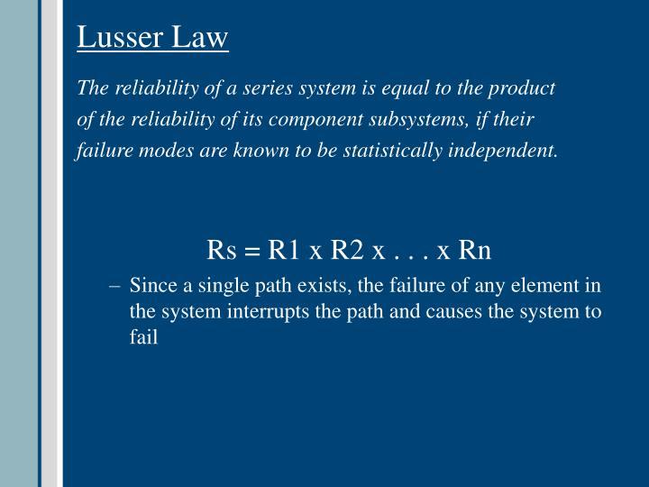 Lusser Law
