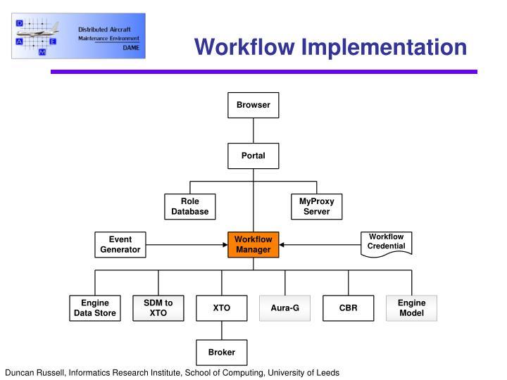 Workflow Implementation