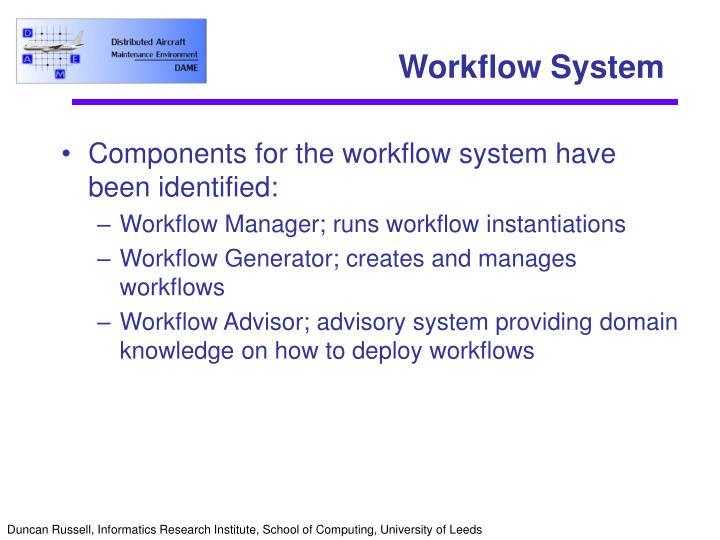 Workflow System