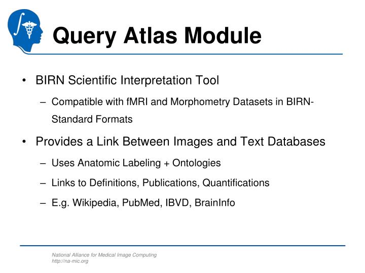 Query Atlas Module
