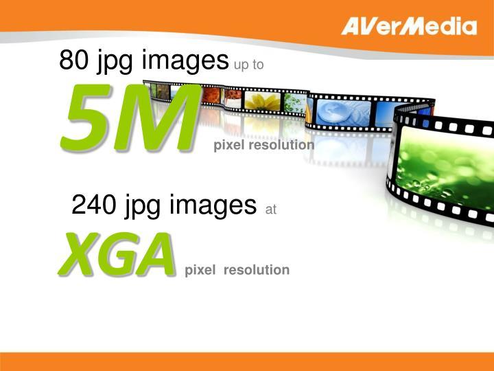 80 jpg images