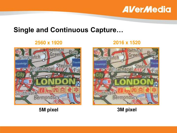 Single and Continuous Capture…