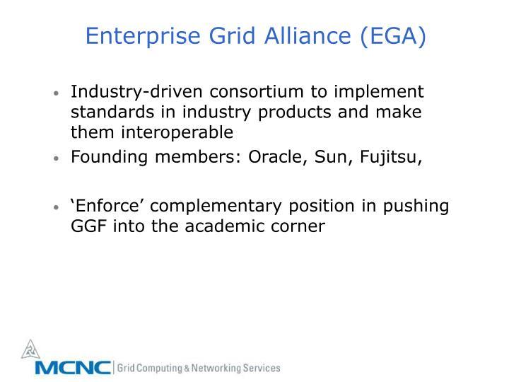 Enterprise Grid Alliance (EGA)