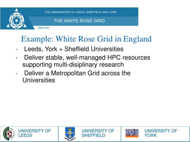 Leeds, York + Sheffield Universities