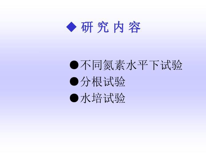 ◆ 研 究 内 容