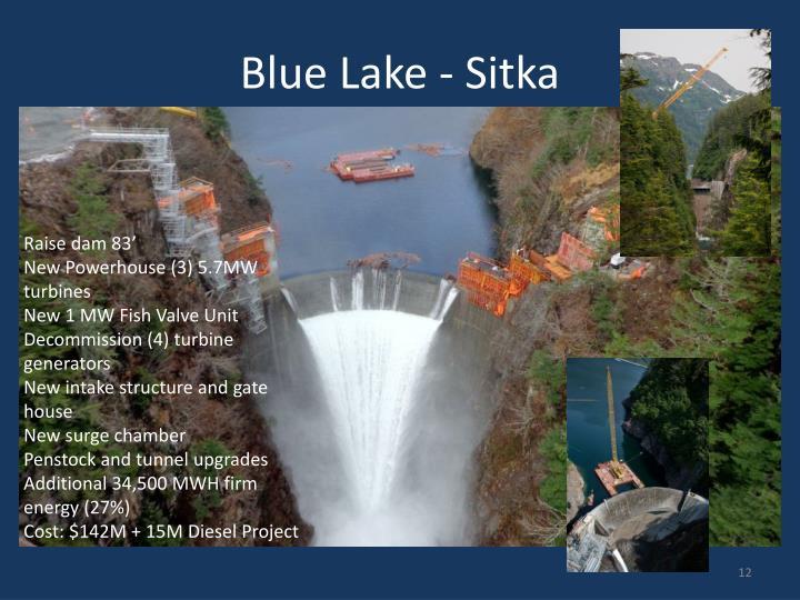 Blue Lake - Sitka