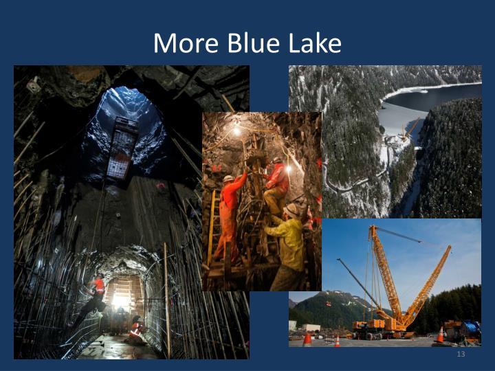 More Blue Lake