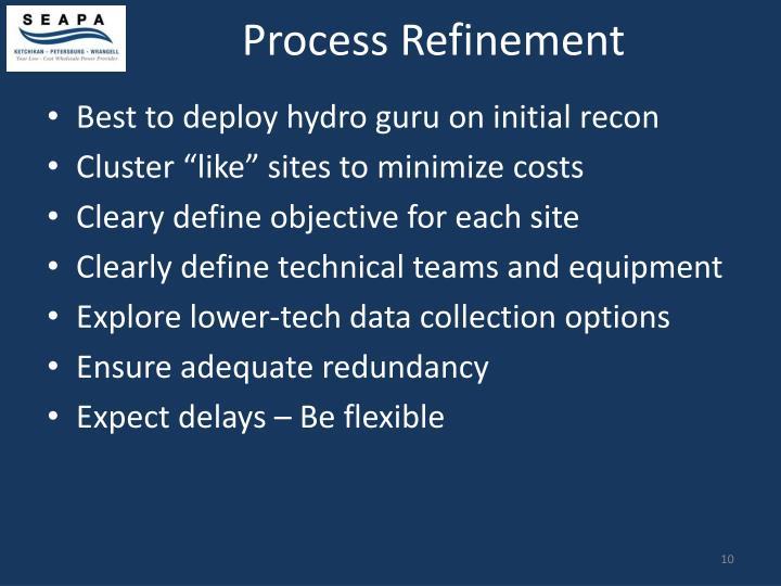 Process Refinement