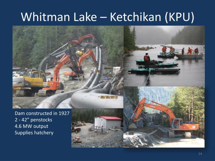 Whitman Lake