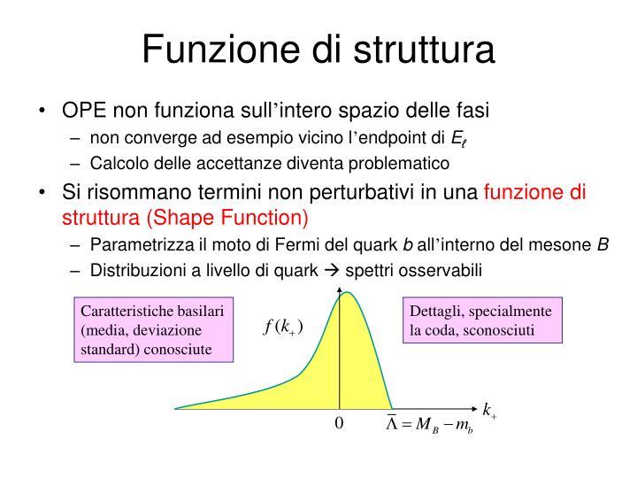 Funzione di struttura