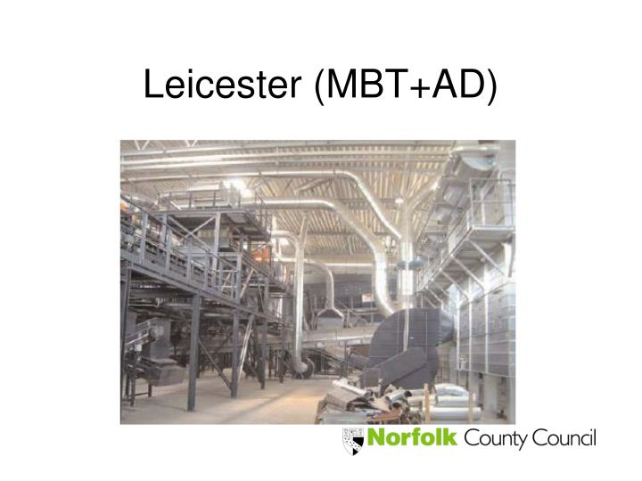 Leicester (MBT+AD)