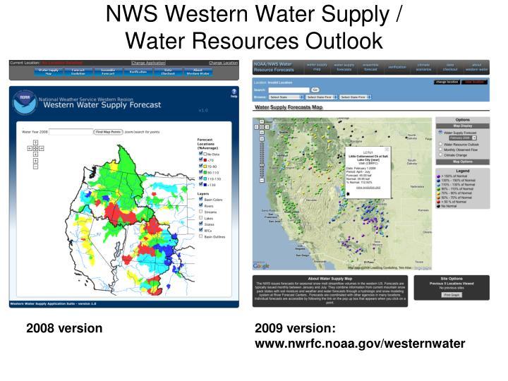 NWS Western Water Supply /