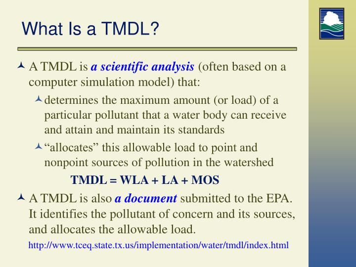 What Is a TMDL?