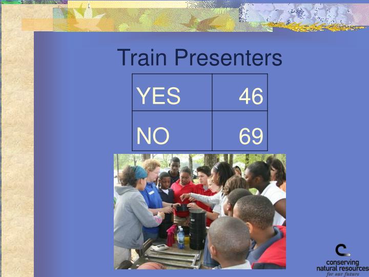 Train Presenters