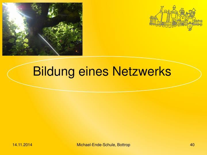 Bildung eines Netzwerks