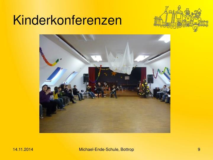 Kinderkonferenzen
