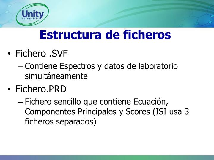 Estructura de ficheros