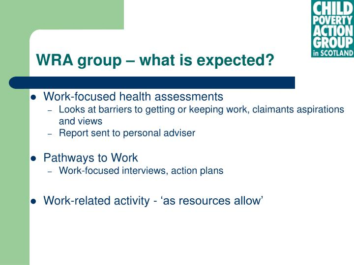 Work-focused health assessments