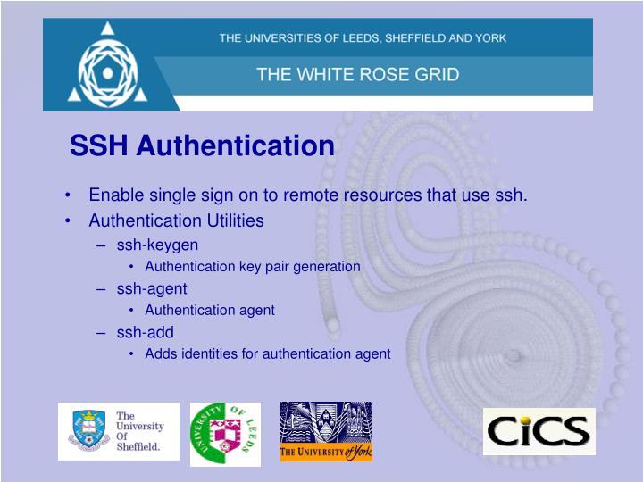 SSH Authentication