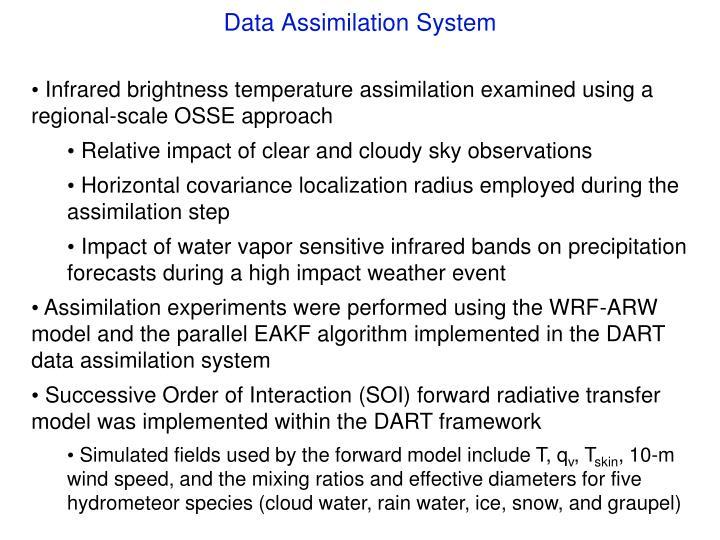 Data Assimilation System