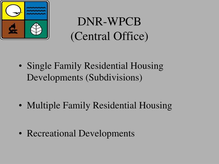 DNR-WPCB