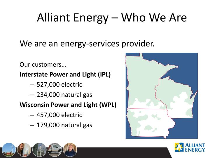 Alliant Energy – Who We Are
