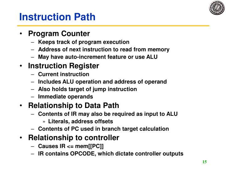 Instruction Path