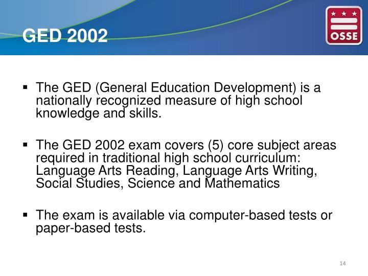 GED 2002