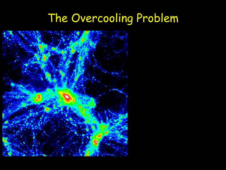 The overcooling problem