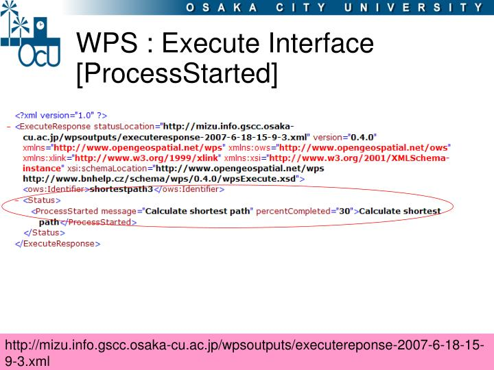WPS : Execute Interface