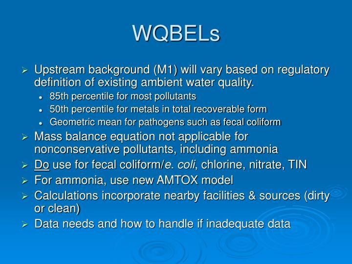 WQBELs