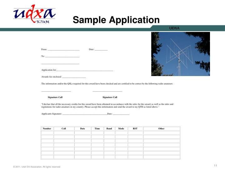 Sample Application