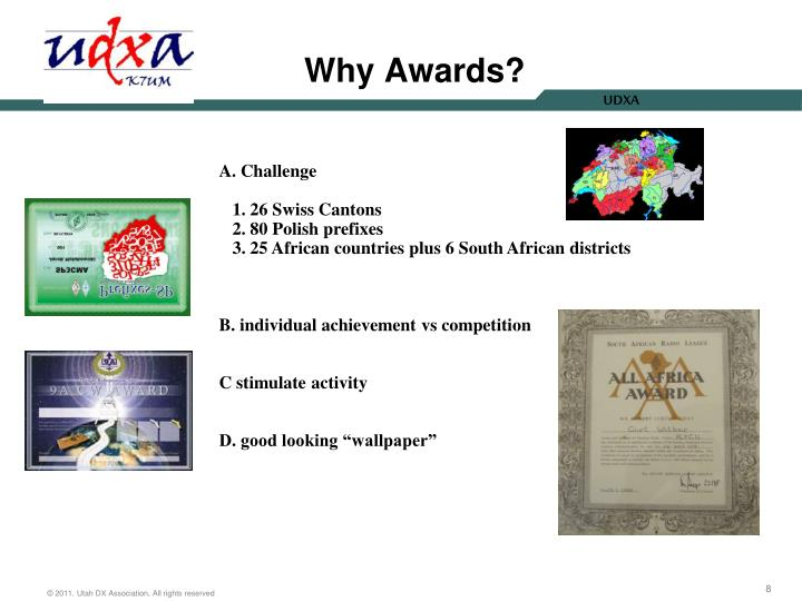 Why Awards?