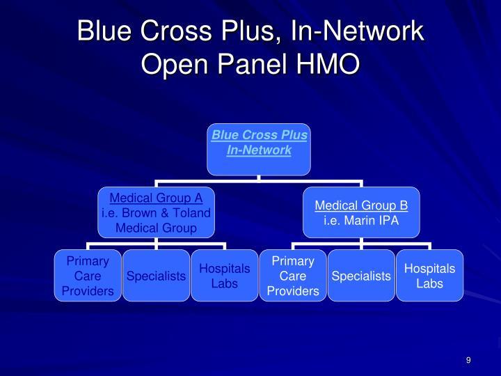 Blue Cross Plus, In-Network